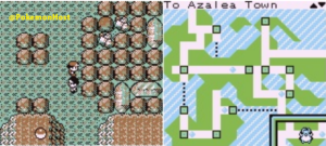 azalean town and players movements in the area