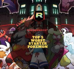 Top 5 Worst Starter Pokemon