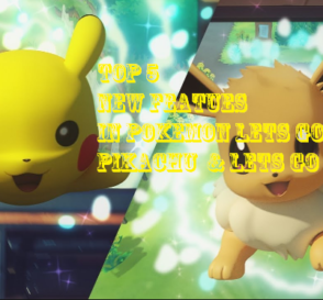 pokemon lets go pikachu and lets go evee