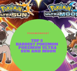 top hardest pokemon to obtain in ultra sun and moon