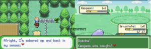 pokemon clover gameplay scene