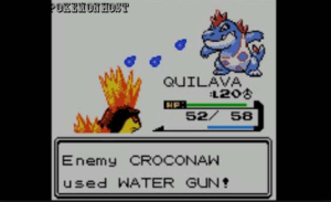 pokemon crystal free gameplay scene