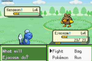 what will ejacasm do in pokemon clover version