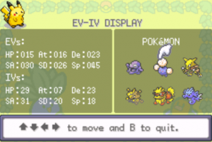 EV-IV Display