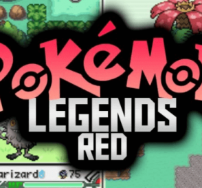 Pokemon Legends Red GBA