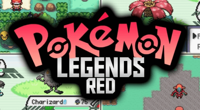 Pokemon Legends Red GBA Download