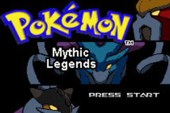 Pokemon Mythic Legends GBA Download