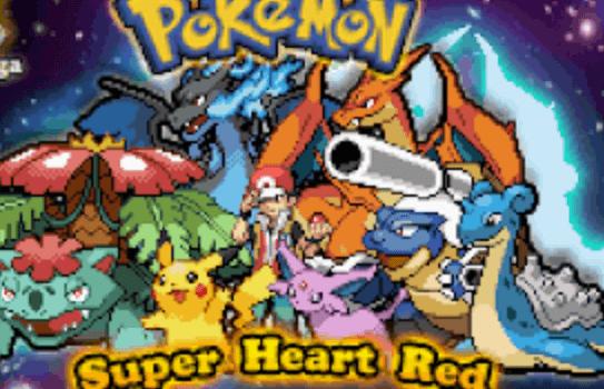 Pokemon Super Heart Red Download
