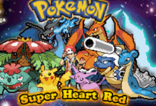 Pokemon Super Heart Red GBA Download