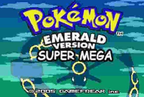 Pokemon Super Mega Emerald GBA Download