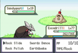 Sandygast and Excadrill
