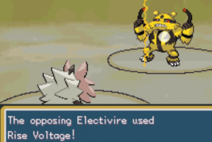 the opposing electivire